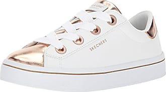 Eu Toes Gold 36 Wtrg 5 white Femme lites Hi rose Baskets medal Skechers Blanc TxzOanxw