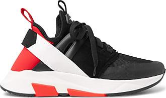 Jago Neoprene Black Sneakers Suede Ford Tom And Mesh wqz06