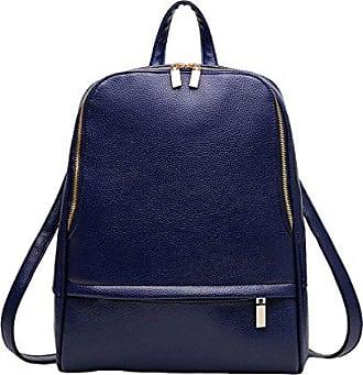 blue Tasche rucksack Kapazität Damen College Wind mode Schultertasche Schulter Gkkxue reise Großen onesize Mit Einer FlKJc1