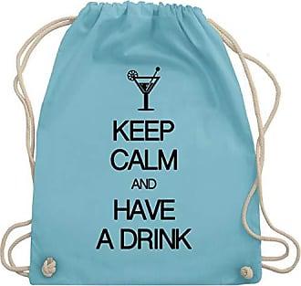 Bag Drink Shirtracer Wm110 A Hellblau CalmAnd Keep Have Gym Unisize Turnbeutelamp; sQhrdCxBt