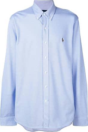 down hemd Ralph Lauren Button Polo Blau FzxYSzf
