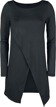 Asymmetric Lange Long Met Longsleeve Zwart Forplay Shirt Mouwen 51RTqT4