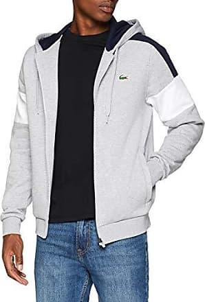 argent Chinémarine Sweat Blanc Shirt Sh9492 Sport Homme Lacoste Fqa8w8