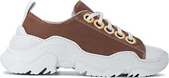Low Sneakers top N°21 Contrast Marron xqwAYY5t4