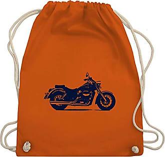 Wm110 amp; Motorrad Motorräder Unisize Orange Gym Turnbeutel Shirtracer Bag WHnIxax