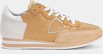 Mondial Brown Beige Tropez Sneakers Philippe Veau Model IwqSWU