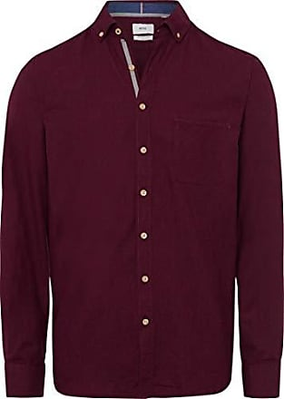 Hombre 43 dries Para Style M dunkel 49 Brax Casual 3557 Camisa Rot vSw5q0