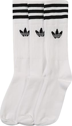 Crew Zwart Solid Wit Adidas Sokken xZ0UfUn