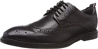 1 Brogue Zapatos Negro Cordones Para Hombre De Eu 900 black Strellson 45 Harley Lfu New wqn0ttIg