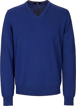 Fay Pullover Pullover ausschnittBlau46Knitwear V Mit V Mit Pullover Fay Mit Fay ausschnittBlau46Knitwear q45ARL3j