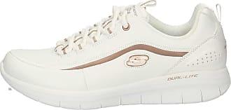 12933 Sneakers Sneakers Blanc Femme Skechers nv8wmON0