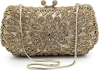 Bag Addora Abendtasche Tasche Kette Abendessen Metall Diamanten Voller Braut d Luxus Handtaschen onesize Clutch Mode Rjq4cLS35A