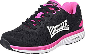 Zapatillas Mujer Lisala white Negro 38 De Deporte Para fuchsia Eu Lonsdale black Exterior Zxw1qaH55