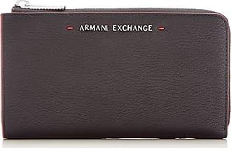 0 Cm b T Carteras nero Negro Zip 5x19 Stitched H Armani Mujer Round 1x2 10 X Wallet xqPw71