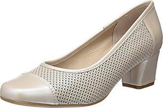 D'chicas Zapatos Beige Cerrada Powder Tacón Mujer Para De Punta Con 1515 Eu 39 Perla 4qrFWnH4Z