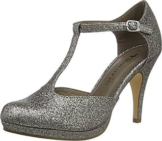 Tacón platinum Glam 970 Plateado Tamaris Para 40 Mujer 24428 Eu Zapatos De 4wx88H0tq