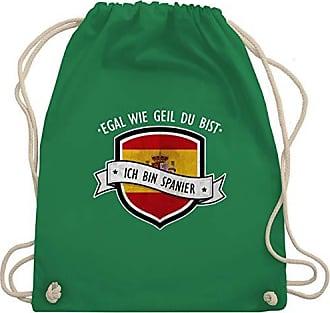 Wm110 Spanier Bin Geil Grün Egal Bag Turnbeutel Unisize Wie Bist Du Shirtracer Gym Ich amp; Länder nf8PnA0B
