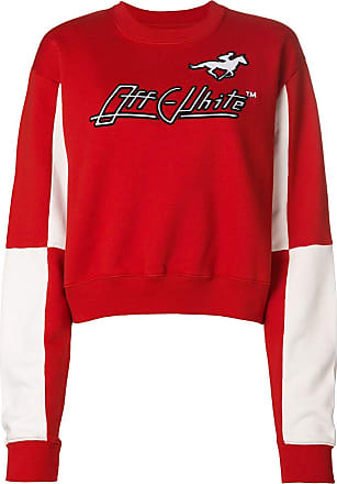 white Racer Off Rouge Jersey Sweater dF5TSq5