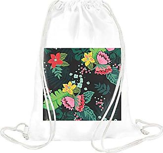 Bag Younique Flowers Pattern Drawstring Younique Flowers wgfXOqB