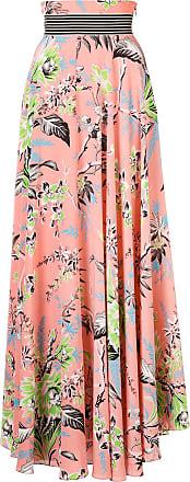 Von Diane Fürstenberg Rose Long Printed Skirt xSTwU