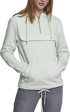 Sweat Urban Classics Mint Over Pull Light S Ladies Damen Kapuzenpullover q3AjRL54