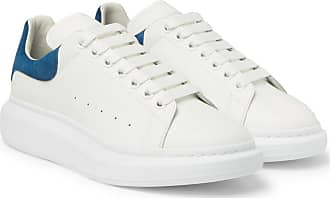 Alexander Mcqueen Leather Sneakers sole Exaggerated White g1gwqF0