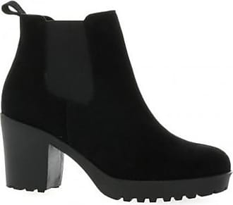 We Do Boots Cuir Velours We Do dazxEd