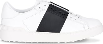 Valentino White Open And Black Sneaker rgqrw6d