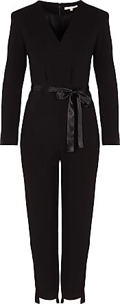 Pantalon Décolletée Côtés Combinaison Crêpe Bandes En Maje Nwn0m8