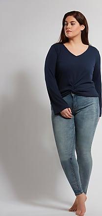 Azul Punto Ms Mode De Anudada Camiseta Damas qUUY1a