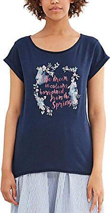 Taille 38 Bleu Navy Fabricant Shirt 047ee1k018 T Femme Esprit Medium dwUnWqvFF