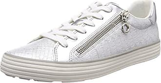 Sneakers 41 white S Femme oliver Blanc silver Basses Eu 23615 UR8gRZ