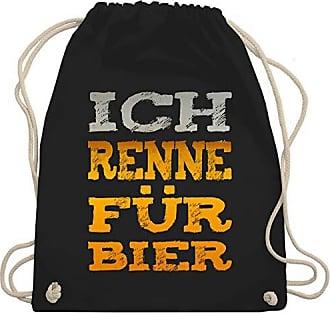Für Statement Wm110 Turnbeutel Shirts Schwarz Renne Shirtracer Unisize Ich amp; Bag Bier Gym xfHIHT