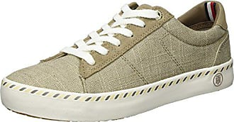 068 Hilfiger E1285liza Eu Basses Tommy 40 Beige Sneaker 7c1 cobblestone Femme 7U8d5xpw5q