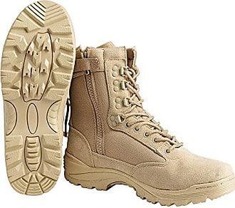 Tactical tec Gr Mil 48 Khaki Boots Zipper drxWCBoe