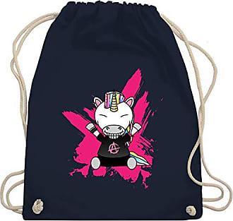Bag Shirtracer Gym Wm110 EinhörnerPunk Unisize Einhorn Blau Turnbeutelamp; Navy b76Yyvfg