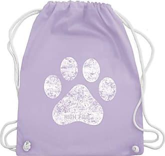 Wm110 Shirtracer Bag High Gym Turnbeutel amp; Pfote Hunde Pastell Lila Unisize Five xUUH0qPwr