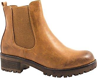 Camel Boots London Damen Stiefeletten Bequeme Profilsohle Eu Chelsea Elara 38 Blockabsatz 4nRvwztx