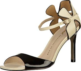 Schwarz High »leder« heel sandalette Schwarz Bronx wp7RqX5R