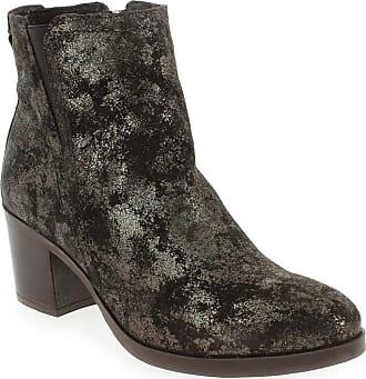 3432 Femme Paula Boots Promo Urban Pour Marron qwwIO04