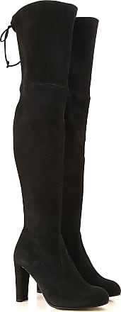 Boots Stuart Booties For Black Sale On Weitzman 2017 Leather Women 38 Suede FqwgCx5Bqn