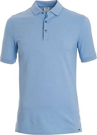 Five Kurzarm Poloshirt Body Olymp Fit Level BlauEinfarbig fIYbg7y6v