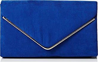 Damen Envelope Bag TascheBlauroyal Suede Velvet Prom Size Oscar Clutch 03One Party Blue Swankyswans iTPuwOkZX