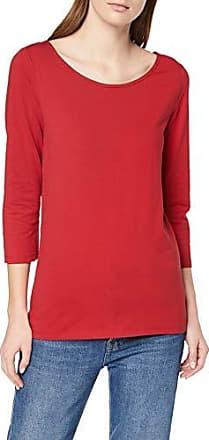 610 Esprit By large Mujer Para Manga Red Camisa X dark Larga Edc Rojo 019cc1k025 Z4FfPqw