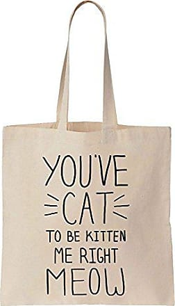 Finest Meow Youve Cat Baumwoll Me To Be Bag Segeltuch Kitten Right Einkaufstasche Tote Prints rq85x1r
