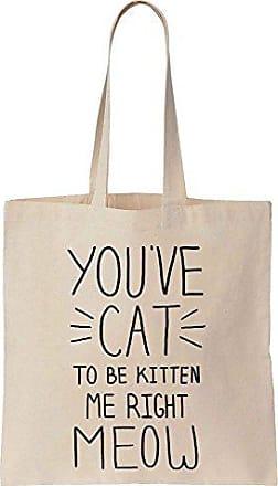 Prints Be Segeltuch Finest To Cat Bag Baumwoll Youve Right Einkaufstasche Kitten Me Meow Tote dnTITqBx