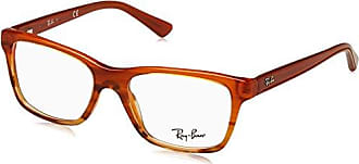 brown Para ban Gafas Striped 48 Ray De Gradient 0ry1536 Niños Monturas Marrón g8SaT