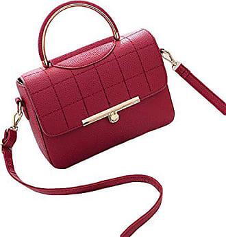 Umhängetasche Einfache Mode Handtasche onesize Elegant Wilde Bag Messenger Gkkxue red1 Tasche Quadratische Atmosphäre Damen Kleine EBqHgnRvW