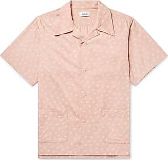 Chimala Printed collar Camp Pink Woven Shirt xT8qxrwS