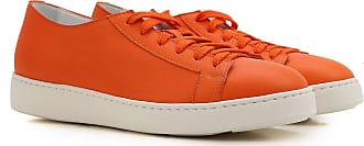 Outlet 2017 Sale Leather On 5 Orange In 38 Women Santoni For 39 5 36 Sneakers 39 36 5 wxCnqz1Y